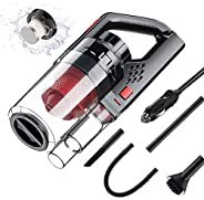 Car Vacuum Cleaner 6000PA 150W High Power Corded Car Vacuum Portable Handheld Low Noise Wet Dry Use for Quick