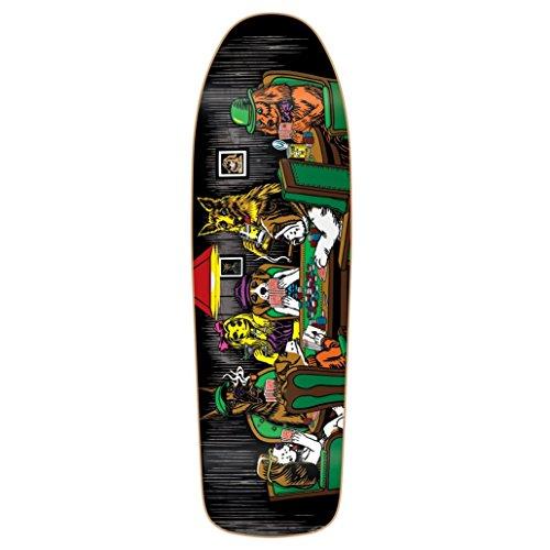 Almost Skateboard Deck Mullen Dog Poker Slick R7 9.625