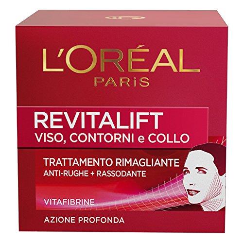 L'Oréal Paris Revitalift Trattamento Rimagliante Anti-Rughe e Rassodante, 50 ml