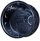 f-tronic Unterputz-Abzweigdose, 35 mm Tief, Durchmesser = 72 mm, Inhalt: 25, Schwarz, E110