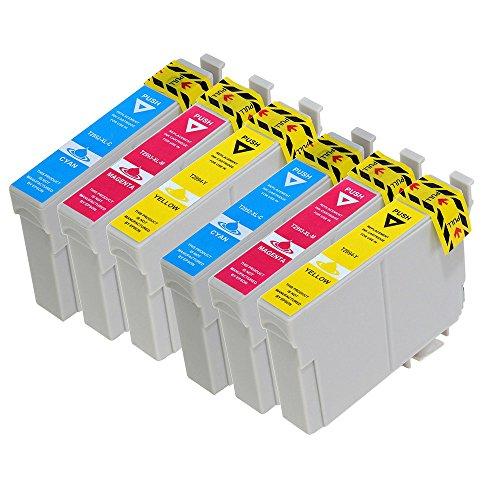 vivink 6cartucce d' inchiostro rigenerate per Epson 29X L t2992-t2994compatibile con Epson Expression Home XP-235XP-332XP-335xp-442con chip