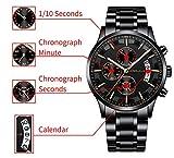TianranRT★ Men's Wristwatch,New Men's Kajun 2268 'S Hot Casual Personality Watch Fashion Popular Men' S Watch Sports and Leisure Raincoats New Fashion,A