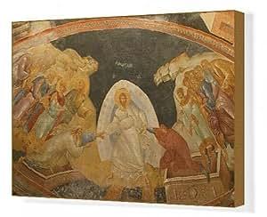 Toile de descente de Christ en Limbo, l'église de St. Saviour de Chora, Istanbul, Turquie