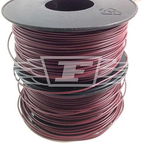 brown-10-meters-solid-core-hookup-wire-1-06mm-22awg-breadboard-jumpers