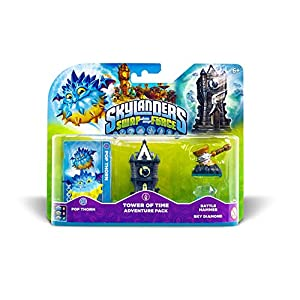 Skylanders Swap Force – Adventure Pack (Pop Thorn, Tower, Diamonds, Hammer)