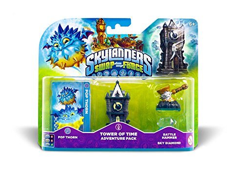 Skylanders Swap Force - Adventure Pack (Pop Thorn, Tower, Diamonds, Hammer) (Xbox Tower Gaming One)