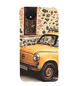 vintage automobile pic 3D Hard Polycarbonate Designer Back Case Cover for Micromax Android A1::Micromax Canvas A1 AQ4502