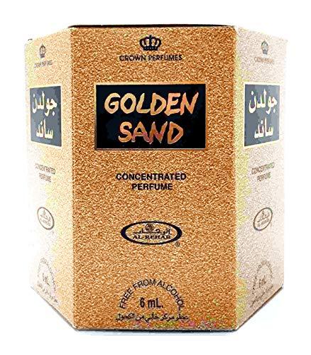 Al-Rehab Crown Perfumes, Golden Sand, Parfümöl, 6 ml, 6er-Pack