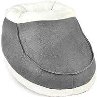 Calentador de pies, sin electricidad, ayuda a la mala circulación de pies y artritis (Gris)