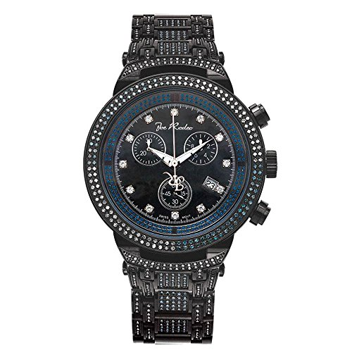 Joe Rodeo Diamant Homme Montre - MASTER noir 4.75 ctw