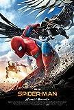 Affiche Cinéma Originale Grand Format - Spider Man : Homecoming (format 120 x 160 cm pliée) Année 2017