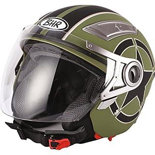 BHR Helm 709, Grun Star, 53-54