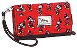 Disney Classic Minnie Cheerful Porte-Monnaie, 20 cm, Rouge (Rojo)