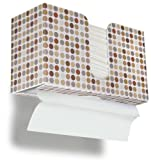 """Trippnt 51339punti retrò plastica dual-dispensing carta da cucina, 107/8"""" larghezza x altezza 61/2"""" x 4¼""""profondità"""