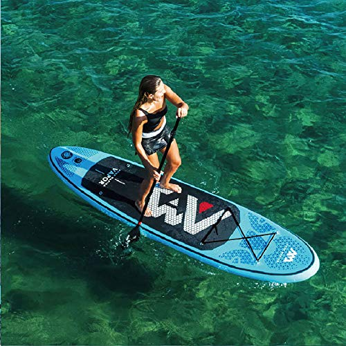 HWHSZ Surfbrett Aufblasbar Sup Stand Up Paddle Board Fischen Kajak Schlauchboot Bein Leine Sitz Bodyboard Aquaplane Ausgezeichnete Balance Und StabilitäT