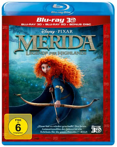 Merida - Legende der Highlands  (+ Blu-ray) (+ Bonus-Blu-ray)