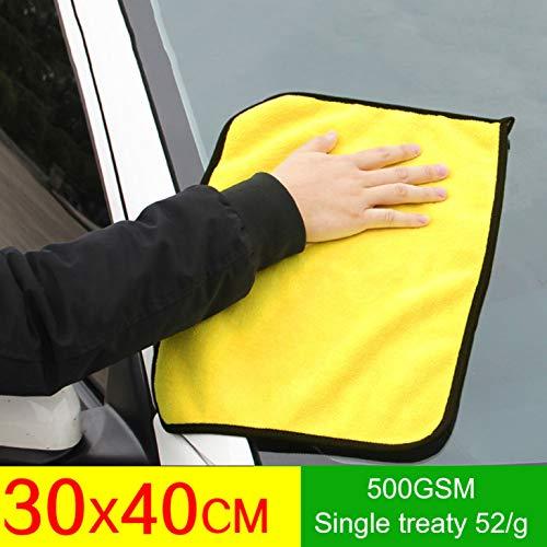 Niuluoke Spiritual 30 x 30 cm / 30 x 40 cm / 30 x 60 cm Auto Care Super Spessa Microfibra Pulizia Auto Pulizia Auto Cera lucidatura