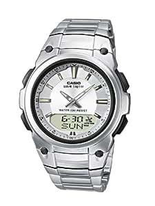 Casio Unisex-Armbanduhr Analog - Digital Quarz Edelstahl WVA-109HDE-7AVER