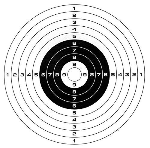 Target Paper 20 Pieces Per Pack 5.5''x5.5''(14x14cm) (Bb Gun Target)