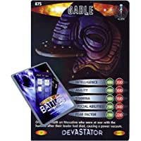 Doctor Who Single Card : Devastator 050 (875) Gable Dr Who Battles in Time Super Rare Card