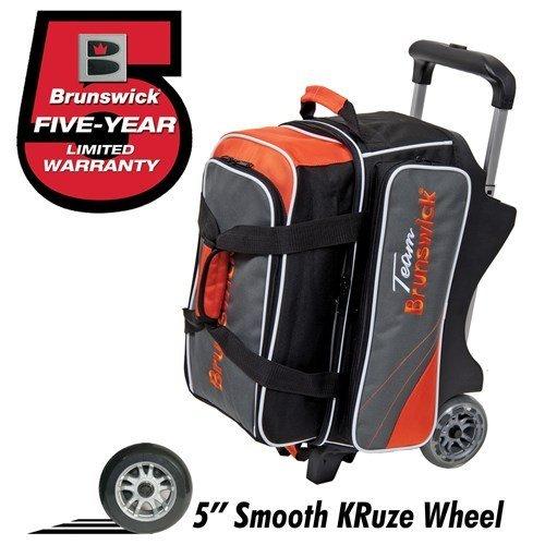 team-brunswick-2-ball-roller-bowling-bag-slate-orange-by-brunswick
