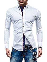 BOLF – Chemise casual – avec manches longues – BOLF 6857– Homme