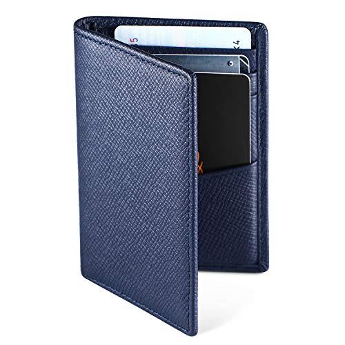 Hardwork Secret Porte Cartes de Crédit, RFID Blocage, Bifold Portefeuille Homme Cuir Véritable, Rangement Carte de Crédit et Billets