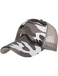 SUMTTER Cappelli della maglia del cappuccio di estate del camuffamento per  le cappelli da baseball hip 1368e9c71c82