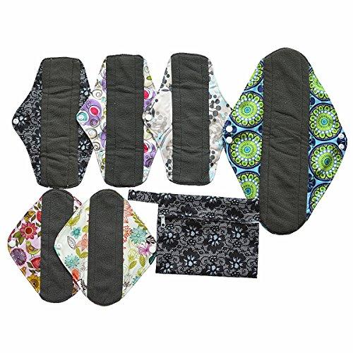 7-pcs-set-1pc-mini-nass-tasche-6-anthrazit-bambus-mama-tuch-pads-wiederverwendbar-menstruationstasse