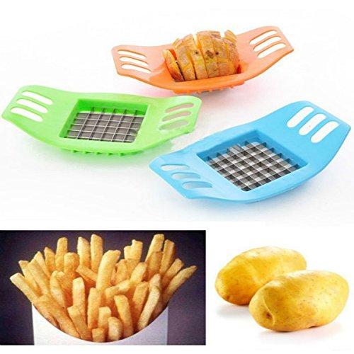 1 Neu Schnell Kartoffelschneider Frites Messer Pommesschneider Stifte Pommes Edelstahl Gemüseschneider