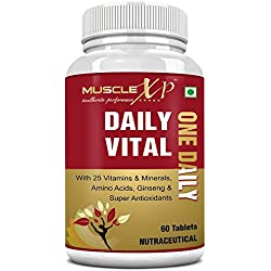 MuscleXP Daily Vital Multivitamin - 60 Tablets