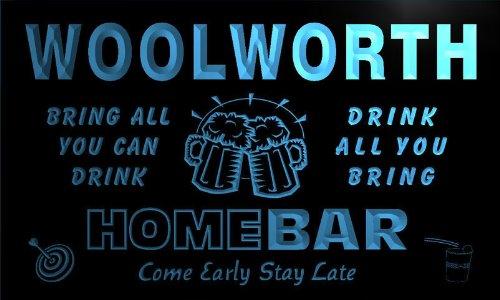 q49029-b-woolworth-family-name-home-bar-beer-mug-cheers-neon-light-sign