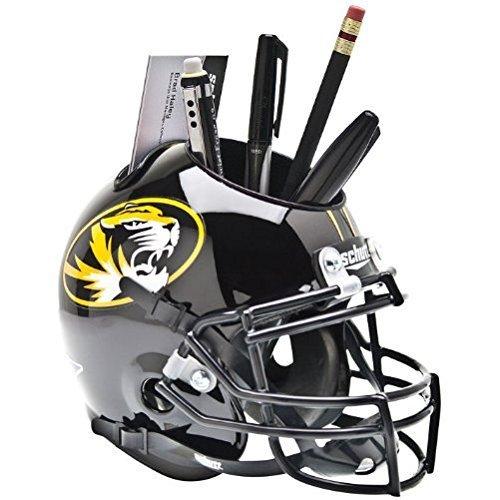 Mini-caddy (Missouri Tigers NCAA Schutt Mini Football Helm Schreibtisch Caddy (schwarz glänzend) von Schutt)