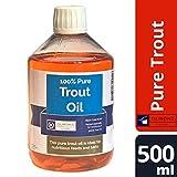 OURONS 500ml di Puro Olio di Trota Ricco di nutrienti per Le Esche per la Pesca della Carpe, per pellets e Misti, ECC