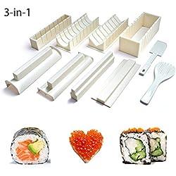 Easy Sushi Maker 10pz Sushi Roll Making Kit Set per Principianti Bambini