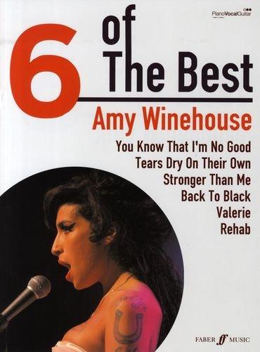 the best Songbook piano/vocal/guitar mit Bleistift -- Die 6 beliebtesten Hits der Sängerin u. a. mit BACK TO BLACK arrangiert für Klavier, Gesang und Gitarre (Noten/Sheet music) ()