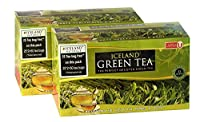 ICELAND NATURALS, Pure Green Tea Bags 100 Bags [Pack of 2](50 Bags x 2) 200 gm