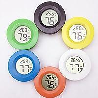 DANMEI Random Color Pet LCD Digital Thermometer Hygrometer Sensor Temperature Probe Humidity Meter