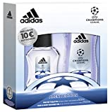 adidas UEFA CL Arena Edition Eau de Toilette + Shower Gel + Online Shop Gutschein, 300 ml