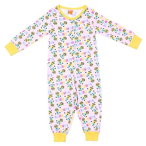 rampelanzug, Ganzkörper Schlafanzug, Onesie, Einteiler - 5-6 Jahre 116 cm (Despicable Me-strampelanzug)