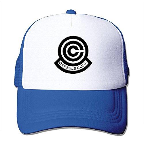 Big Big Dragon Ball Z cápsula Corp Logotipo Fashion Cool Mesh Cap Sombreros