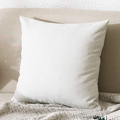 YXDDG Premium-Foam universal Komfort Quadratische Kissen für rücken und Nacken-Weiß 20 * 20in