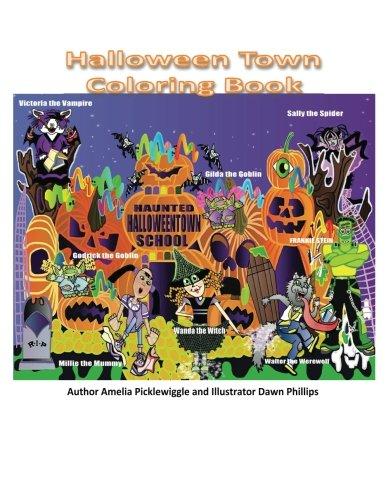 Halloween Town Coloring Book (3 1 Halloween Town Und 2)