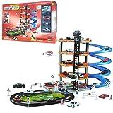 #1: SuperToy(TM) 5 Level Modern Car Park Driveway City Car Wash Garage Set Kids Gas Station Play Set Toy