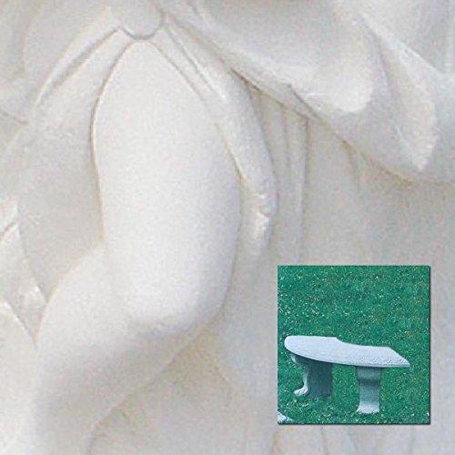 Gartenbänke einfache halbrund CM110X 30X 56H in verschiedenen Farben antichizzata