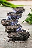 Heissner PolyRock-Fountain Terrassenbrunnen