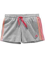 adidas Performance Niños, Niñas Pantalones Cortos, color Gris, tamaño 12 años (152 cm)
