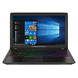 "ASUS ROG Strix GL553VD-DM067T - Ordenador portátil de 15.6"" Full HD (Intel Core i7-7700HQ, 8 GB RAM, 1 TB HDD + 128 GB SSD, NVIDIA GeForce GTX1050 4 GB, Windows 10 Home) metal negro, QWERTY español"