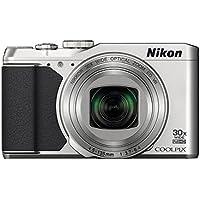 Nikon VNA791E1 COOLPIX S9900 Compact Digital Camera (16.0 MP, CMOS Sensor, 30x Zoom) 3.0 inch LCD - Silver