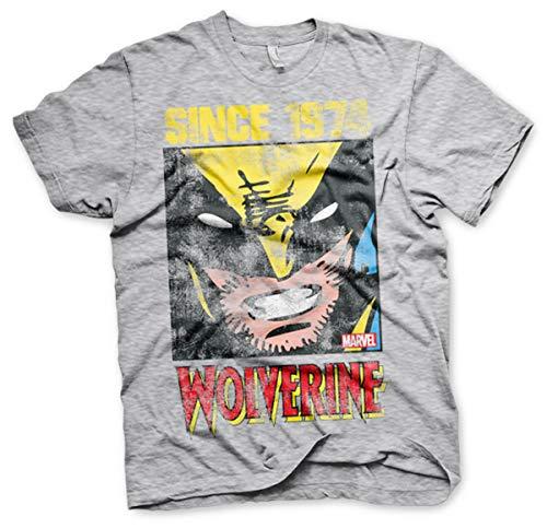 Wolverine x-men logan marvel comics ufficiale uomo maglietta unisex (x-large)